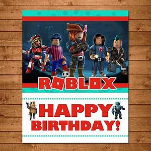 Roblox Happy Birthday Sign Roblox Birthday Banner Roblox
