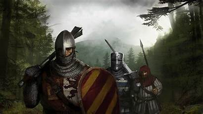 Medieval Knight Fantasy Marching Battle Resolution Brothers