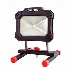 Husky 1500-lumen Led Portable Worklight-k40066