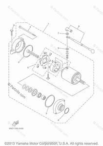 Yamaha Atv 2003 Oem Parts Diagram For Starting Motor