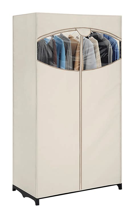 essential home portable clothes closet home storage