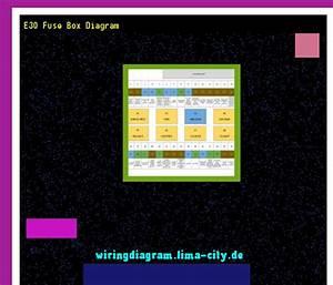 E30 Fuse Box Diagram  Wiring Diagram 18593