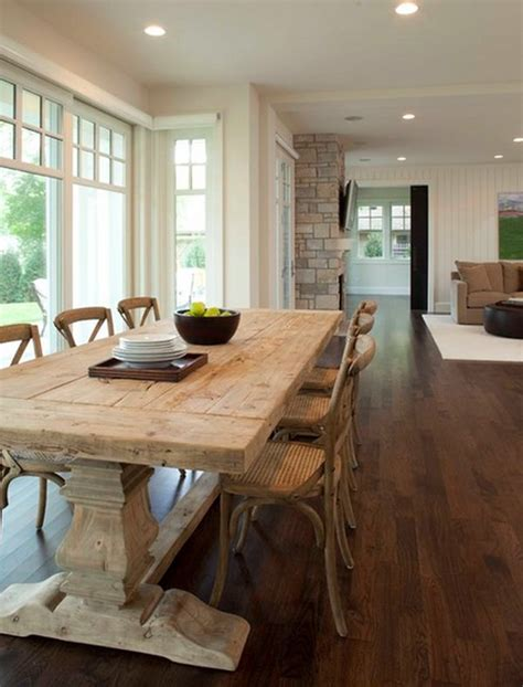 sentimental    farmhouse kitchen table   home