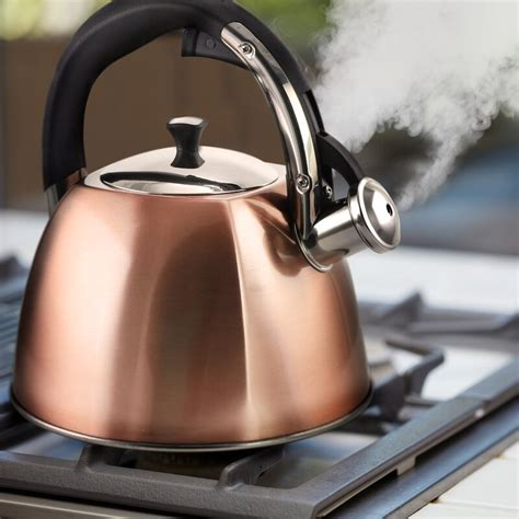 coffee belgrove  qt stainless steel whistling