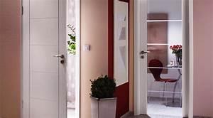 porte interieur maison With porte de garage avec porte d intérieur blanche
