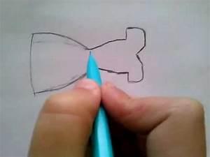 comment dessiner une robe d39ete youtube With dessiner un modele de robe