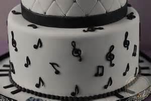 Happy Birthday Music Note Cake
