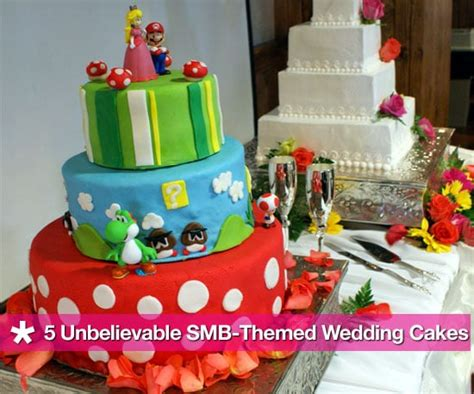 Super Mario Bros Wedding Cake Popsugar Tech