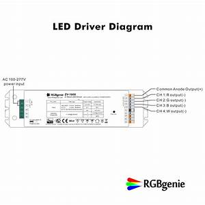 Rgbw Led Controller With Built In Power Supply   Z
