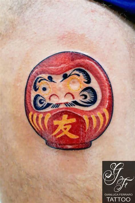 famous daruma doll tattoo designs