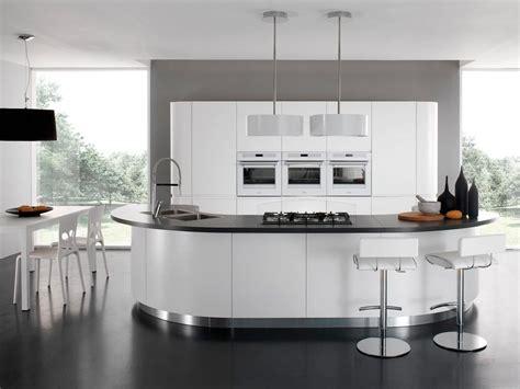 cuisine design avec ilot cucine moderne espomobili showroom