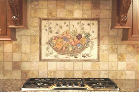 ceramic tile murals for kitchen backsplash 14 stunning ceramic tile murals for kitchen backsplash 9393