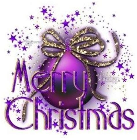 purple merry christmas ornament pictures photos and images for facebook pinterest