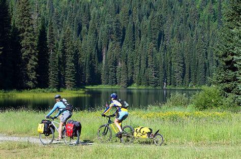 mountain bike  adventure cyclist adventure