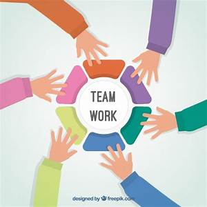 United teamwork hands Vector | Free Download