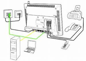 Speedport Telefon Einrichten : telekom t com speedport w720v wlan router dsl modem ~ Frokenaadalensverden.com Haus und Dekorationen
