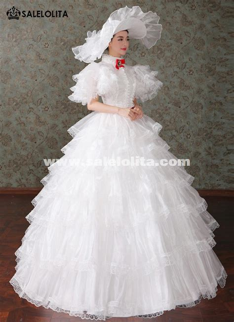 brand  white marie antoinette renaissance princess