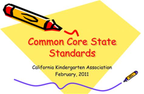 common state standards california kindergarten 569 | Common Core Standards Powerpoint cover 300x196