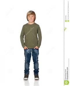 Child Standing Portrait