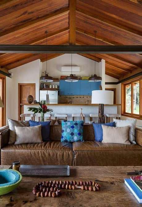 sala sofa marrom e parede cinza almofadas para sof 225 marrom como escolher 45 modelos