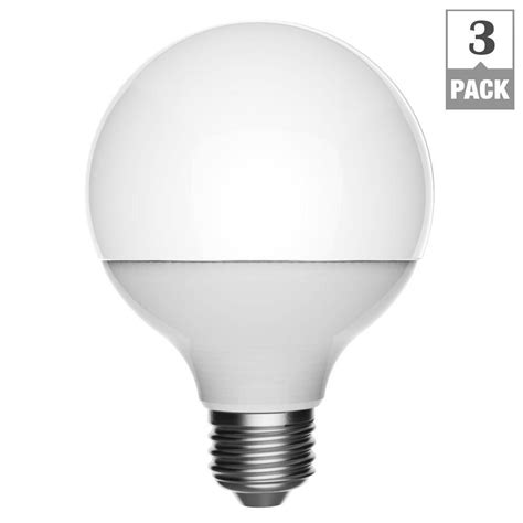 ecosmart 40w equivalent soft white g25 dimmable led light