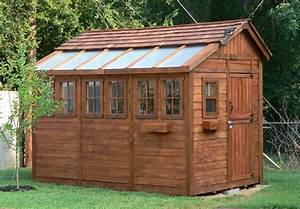 8 x 12 sunshed cedar garden shed and greenhouse ssgs812 for Best deals on garden sheds