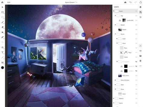 Adobe Announces Full Photoshop Cc For Ipad Shipping 2019