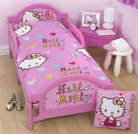 Hello Bed by Hello Pink Junior Toddler Cot Bed Duvet Set Quilt