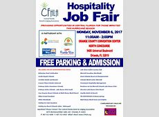 Hospitality Job Fair Orlando Salute Vets