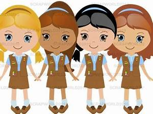 19+ Girl Scout Brownie Clip Art | ClipartLook