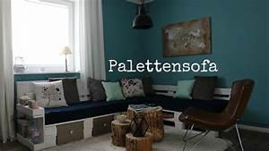 Couch Aus Paletten : palettensofa sofa aus paletten anleitungen ideen shop ~ Markanthonyermac.com Haus und Dekorationen