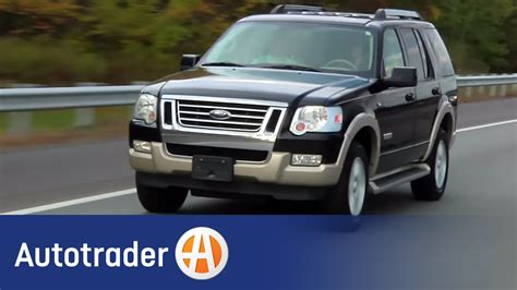 ford explorer suv  car review autotrader youtube