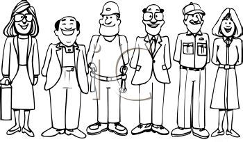 13180 career clipart black and white day a to z writing like