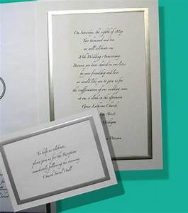 silver anniversary invitation sample wording choice image With sample of silver wedding anniversary invitation