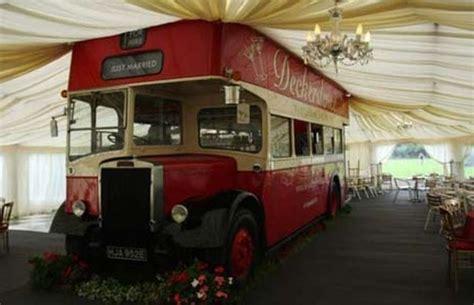 Droitwich Couple's Double Decker Bus Is Hit Wedding Venue