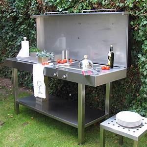 Garten Küche Ikea : edelstahldesign outdoor die outdoork che von l heinen ~ Lizthompson.info Haus und Dekorationen