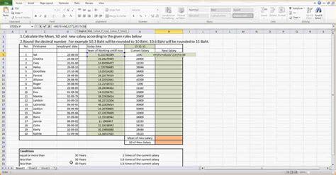 salary increase template excel simple salary slip