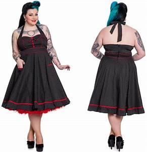 Gothic Kleidung Auf Rechnung : rockabilly kleid vanity gepunktet hellbunny bergr sse ~ Themetempest.com Abrechnung