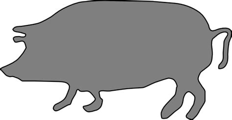 pig silhouette images    clipartmag