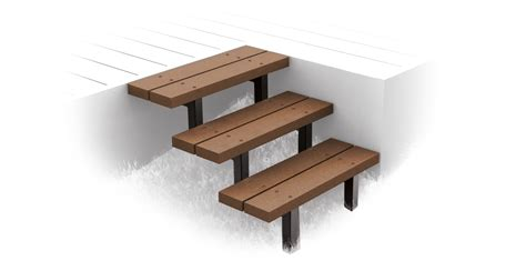 Treppe Für Terrasse by Megawood Terrassensystem Treppe