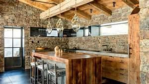 40 Rustic Kitchen Wood Design Ideas 2017 - Amazing Kitchen