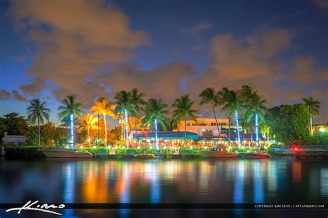 beach delray florida night towns waterway restaurant fl retire retirement estate kimo captain