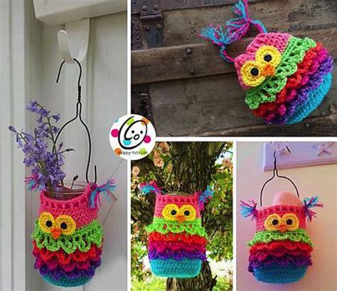 craft crochet ideas 20 crochet knitted owl patterns 1471