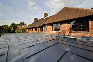 Single Ply Heritage Home Roofing Installation   Sarnafil ...