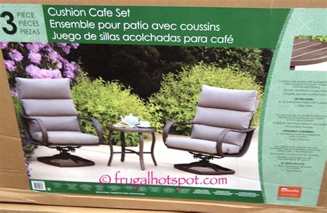 costco pacific casual 3 pc cushion cafe set 349 99