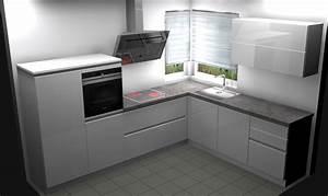 Küchen Ohne Geräte L Form : sch ller einbauk che front hochglanz wei neu k che ohne ger te grifflos design ebay ~ Indierocktalk.com Haus und Dekorationen