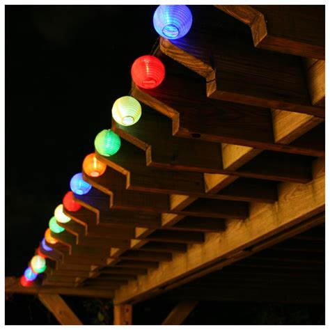 smart solar lantern solar string lights 427282