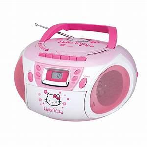 Radio Cd Kassette : stereo hello kitty cd player boombox w cassette recorder ~ Jslefanu.com Haus und Dekorationen