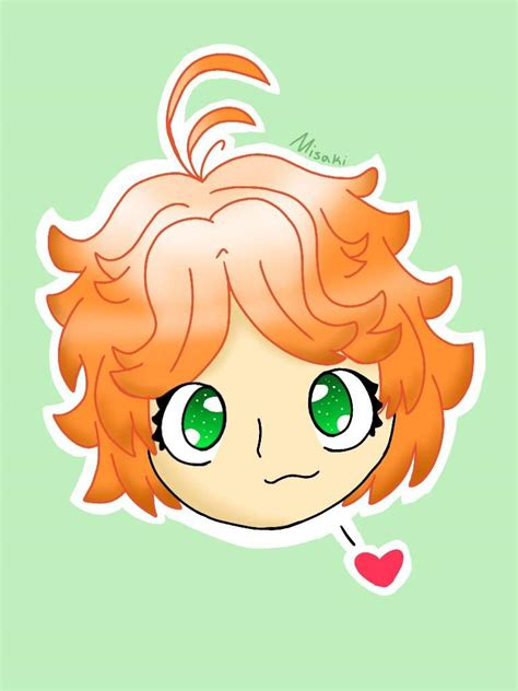 sticker style the promised neverland amino