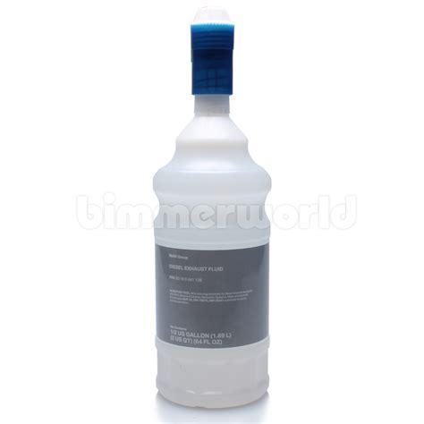genuine bmw diesel exhaust fluid adblue  gallon